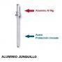 Aluminio junquillo